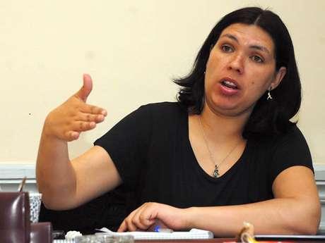 Bárbara Figueroa, presidenta de la CUT