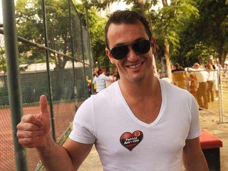 <p>Nas eleições presidenciais do Flamengo (foto),Diego Hypolito manifestou apoio a Patricia Amorim</p>