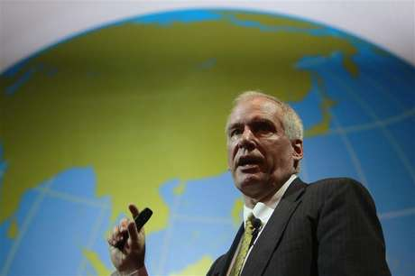 Boston Fed President Eric Rosengren speaks during the Sasin Bangkok Forum July 9, 2012.