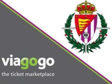 Imagotipo del acuerdo alcanzado por la empresa y el Valladolid