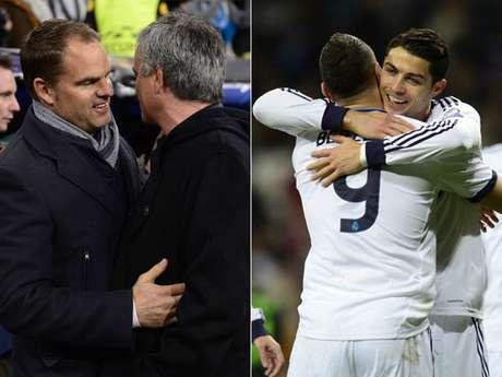 El Real Madrid cerró la fase de grupos de la Champions League con una contundente victoria 4-1 sobre Ajax de Holanda en el Santiago Bernabéu, en la que los técnicos y Cristiano Ronaldo fueron el centro de atención. A continuación, te mostramos las imágenes más curiosas del encuentro.