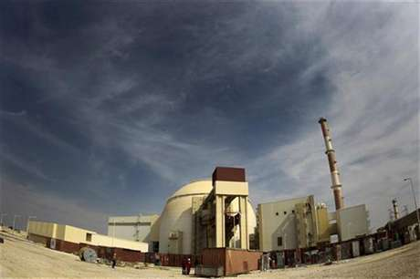 A general view of the Bushehr nuclear power plant, some 1,200 km (746 miles) south of Tehran October 26, 2010.