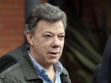 Colombian president Juan Manuel Santos lamented the death of Miguel Calero.