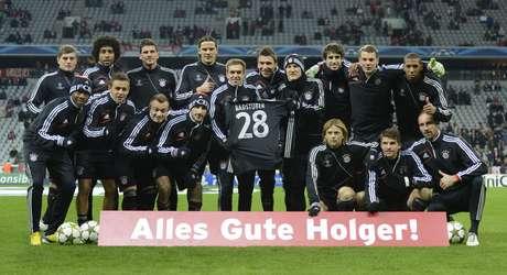 Holger Badstuber faltaba por lesión, Dante y Javi Martínez por estar apercibidos de sanción, Franck Ribery, Philipp Lahm y David Alaba para recuperarse.