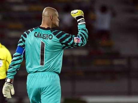 El número 1 de Miguel Calero será retirado.