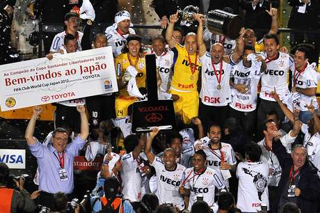 O Corinthians é o atual campeão da Copa Libertadores da América