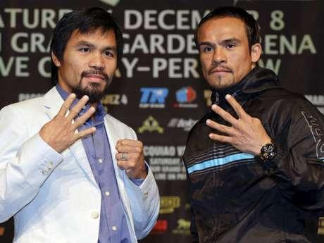 Fuera del ring, surgió la polémica entre Manny Pacquiao y Juan Manuel Márquez.