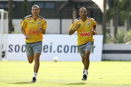 Contrato de Adriano com o Santos chega ao fim em agosto