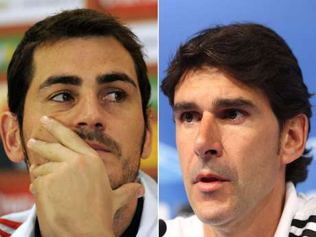 Casillas and Karanka don't see eye to eye.