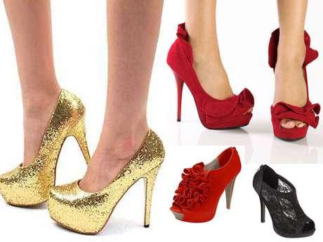 Los zapatos pueden ser el mejor accesorio para tu look. Durante la temporada de fiestas son verdaderos protagonistas de nuestras celebraciones. Elige tu estilo favorito y celebra por lo alto.