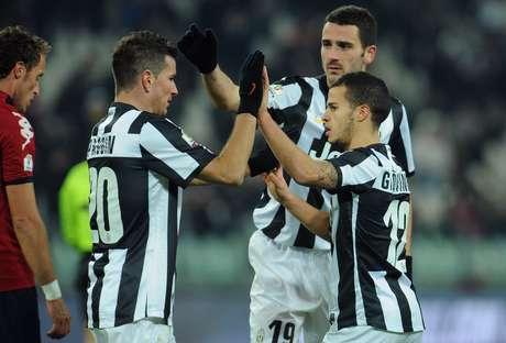 Giovinco, camisa 12 da Juventus, fez aos 12min do segundo tempo para concretizar vitória no dia 12/12/12
