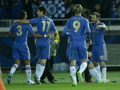 Chelsea fez jogo tranquilo e venceu os mexicanos do Monterrey por 3 a 1