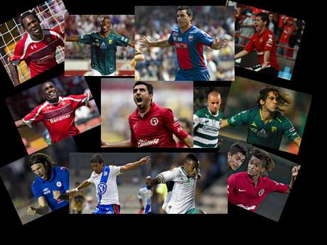 Tijuana, Leon and Toluca stood out as the teams with the best signings in 2012, although with Esteban Paredes, Atlante got a '10'.
