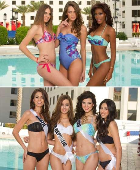 No solo hay bellezas diversas en el marco del certamen de Miss Universo, también existe una grandiversidad en cuanto a sus cuerpos: Unas que por mucho y otras que por poco, así es, entre las representantes al reinado también se pueden apreciarpesos y contexturas diferentes. Aquí presentamos algunas de las candidatas. <br />