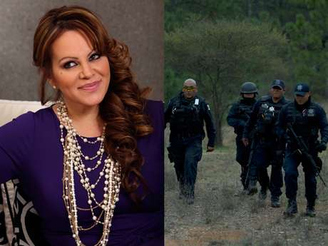 Federal police officers (picture, right) return from the site where a plane carrying U.S-born singer Jenni Rivera crashed near Iturbide, Mexico Sunday, Dec. 9, 2012.