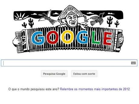 Luiz Gonzaga, o Rei do Baião, é lembrado pelo Google por seu centenário