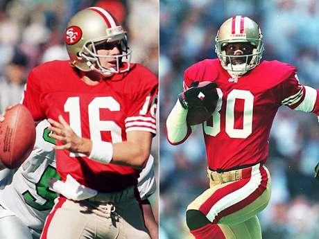 Ha habido muchas grandescombinaciones quarterback-wide reciver que han llegado al Super Bowl. Aquí está la lista de Terra de los 10 mejores, comenzando con dos de los mejores en sus posiciones de todos los tiempos, Joe Montana y Jerry Rice. Montana llevó a los 49ers a cuatro Súper Bowls en la década de 1980, y ganó el MVP del Super Bowl en tres ocasiones. Rice tiene todas las principales marcas de receptor de la NFL, y jugó en dos Super Bowls con Montana, ganando el MVP del Super Bowl después de la captura de 11 pases para 215 yardas y un touchdown en el Super Bowl XXIII.<br />