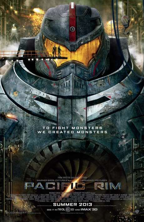 'Titanes del Pacífico' llegará a la pantalla grande en el verano del 2013.