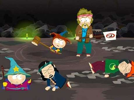 Cena de 'South Park: The Stick of Truth', baseado na animação de sucesso da Comedy Central