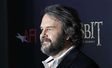 "Director Peter Jackson arrives for the premiere of his movie ""The Hobbit: An Unexpected Journey"" in New York December 6, 2012."
