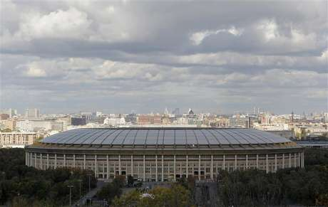 A general view of the Luzhniki Stadium in Moscow September 29, 2012.