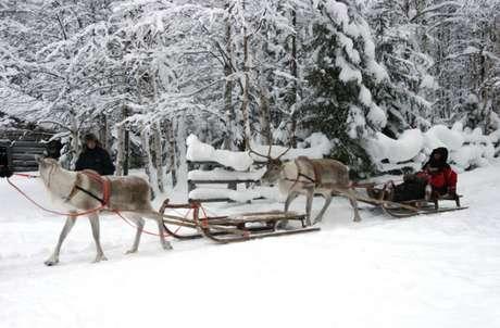 <br />Laponia, el hogar de Papá Noel . Parajes blancos hasta donde alcanza la vista en los que vivir increíbles aventuras.<br /><br />Un recorrido en un trineo tirado por perros o por renos, o un paseo en moto de nieve son algunas de las sugerencias de José Manuel Naranjo, director de Mundo Ártico, recomienda para quien vaya a Laponia.