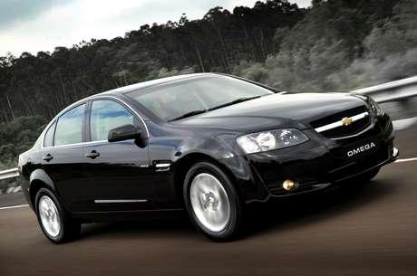 Chevrolet Omega foi produzido no Brasil entre 1992 e 1998