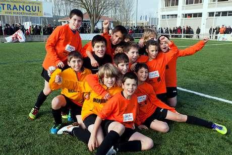 El colegio Mendigoiti ganó la edición del año pasado.