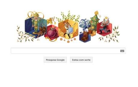 O Quebra Nozes, balé de Tchaikovsky, recebeu doodle especial do Google pelos 120 anos de composição