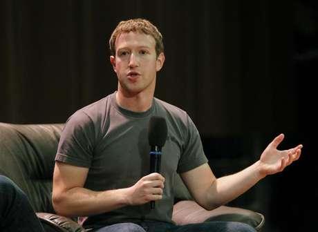 CEO e garoto prodígio do Facebook, Mark Zuckerberg anunciou os resultados da empresa em nota ao mercado
