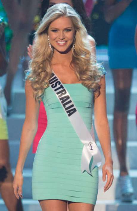 miss universe 2012 top 5 sizzling babes