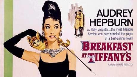 """El afiche de la película """"Breakfast at Tiffany's protagonizada por Audrey Hepburn en una imagen proporcionada por Paramount Home Video. Varias películas memorables como """"Breakfast at Tiffanys"""", """"Dirty Harry"""", """"A League of Their Own"""" y Matrix fueron elegidas por la Biblioteca del Congreso para entrar en sus archivos cinematográficos, informó la biblioteca el miércoles 19 de diciembre de 2012. (Foto AP/Paramount Home Video)"""