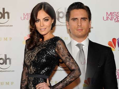 Ximena Navarrete and Scott Disick attended the Miss Universe 2012 beauty pageant. The Miss Universe 2010 and Kourtney Kardashian's beau were judges at the event in Las Vegas. Check out their arrivals to the red carpet event.