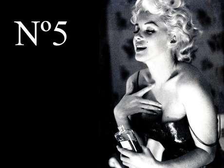 Marilyn Monroe para un anuncio de Chanel