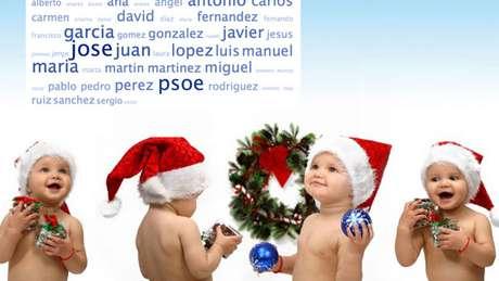 Si no tienes el nombre decidido para tu bebé, podemos ayudarte con algunos de ellos con espíritu navideño!