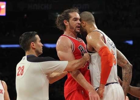 Los Bulls de Chicago derrotaron 110-106 el viernes a los Knicks por segunda ocasión esta temporada.