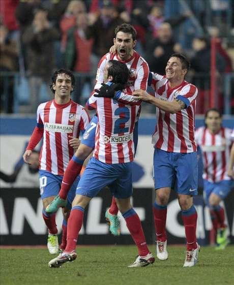 1-0. Adrián permite al Atlético cerrar un feliz año ante el Celta