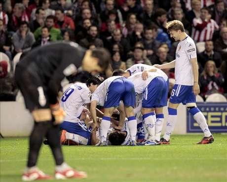 El Zaragoza finaliza el 2012 vivo en lo económico y lo deportivo
