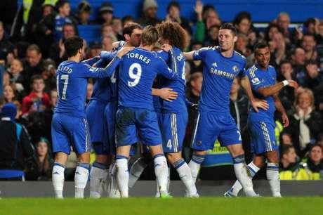 Siete jugadores marcaron para los Blues en este encuentro.