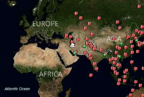 Santa ya ha distribuido gran parte de los regalos en el este del mundo.