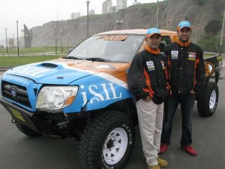 Diego Weber y Alonso Carrillo participarán en su segundo Rally Dakar