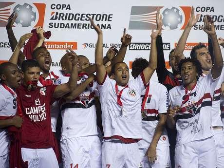<p>São Paulo vai disputar a Copa Suruga porque foi campeão da Copa Sul-Americana</p>