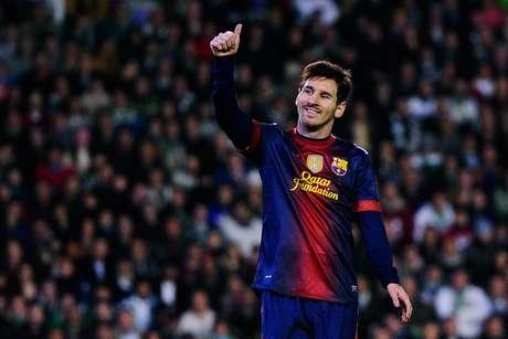 Messi tuvo un impresionante 2012.