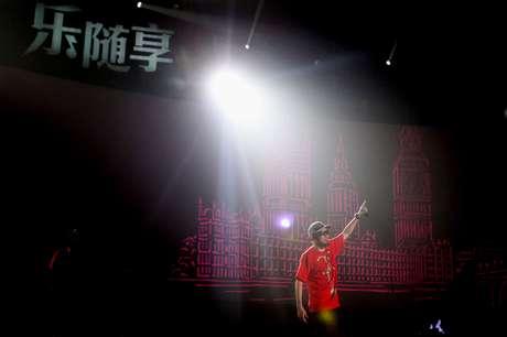 O rapper taiwanês Mc Hot Dog se apresenta em festival na cidade de Pequim, em 2010