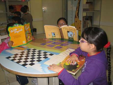 Alunos do segundo ano da Escola Estadual Alfredo Bresser participaram de um campeonato de leitura durante todo o ano letivo de 2012