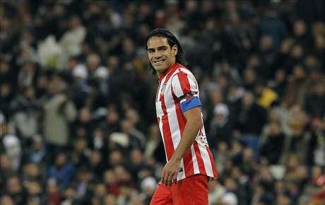 El delantero del Atlético, Radamel Falcao