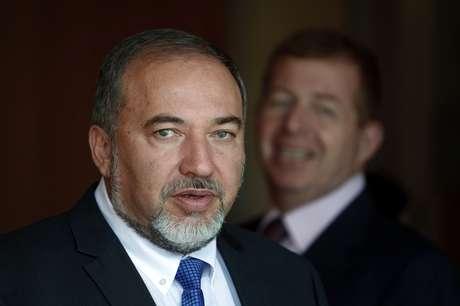 El líder de la ultraderecha israelí Avigdor Lieberman