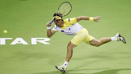 Ferrer venceu em Doha nesta terça-feira