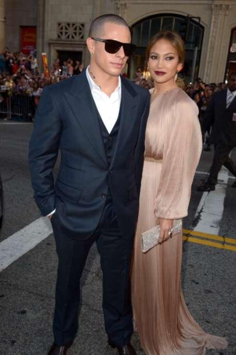 Casper Smart y Jennifer López