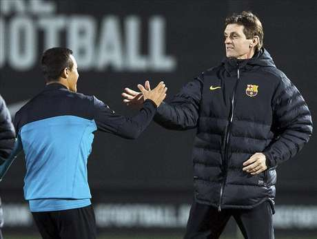 Tito Vilanova dirigirá mañana al Barça en el derbi desde el banquillo del Camp Nou